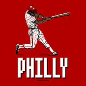 Image of 8-Bit Philly Baseball