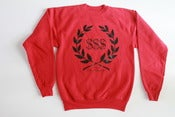 Image of COMPANY LOGO SWEATER (RED) limited edition