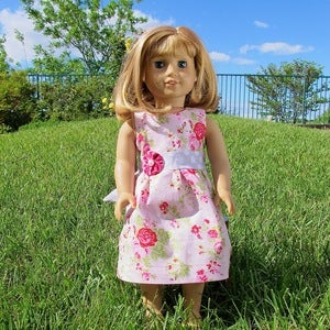 "Image of Perfect Party Dress for 18"" Doll - Fits American Girl"