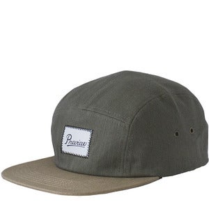 Image of Preview Camp Cap, Hunter Green Herringbone