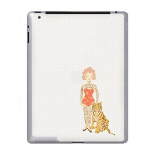 Image of Tattoo'd Lady - iPad Sticker