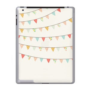 Image of Pretty Bunting - iPad Sticker