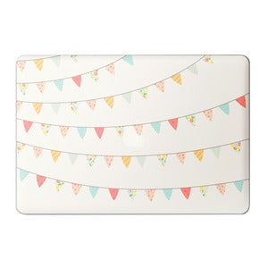 "Image of Pretty Bunting - Laptop 13"" & 15"" Sticker"