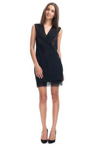 Image of Brand new Dion Lee Black INFINITY Dress size 8 small