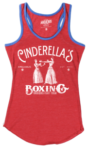Image of CINDERELLA'S BOXING - ECO RINGER RED
