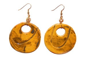 Image of Amber Earrings