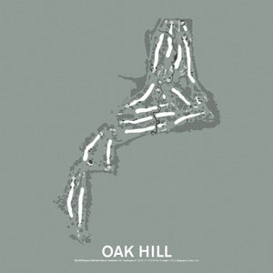 Image of Oak Hill Country Club East Course Screenprint
