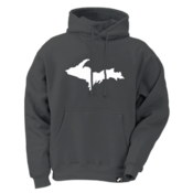Upper Peninsula Hoodie - Heather Gray