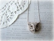 Image of Ceramic Owl Necklace