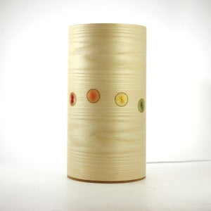 Image of Ash freestanding lamp. Line of Circles.