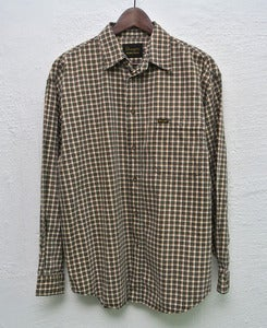 Image of Wrangler plaid shirt (L)