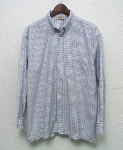 Image of Vintage plaid shirt (L) #2