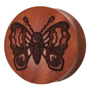 Image of Saba Butterfly Wood Plug