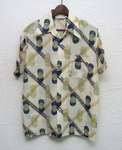 Image of Vintage short sleeve shirt (L) #2