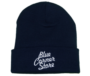 Image of NAVY BLUE CORNER STORE BEANIE