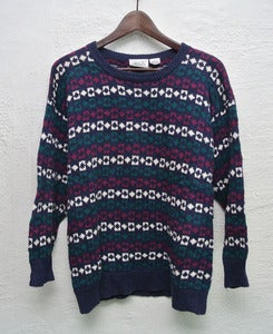 Image of Vintage knitted sweater (S)