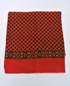 Image of Vintage patterned scarf #6