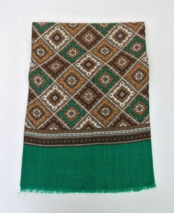 Image of Vintage patterned scarf #7
