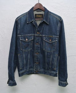 Image of Vintage Wrangler denim jacket (S)