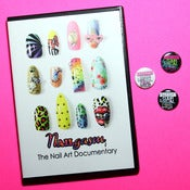 Image of NAILgasm DVD + SYLNA button bundle