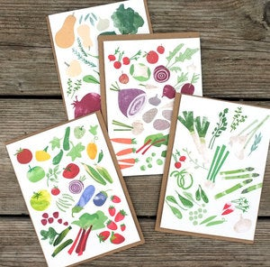Image of Seasonal Garden Cards by Redcruiser.