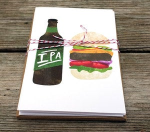 Image of Beer-Food Cards by Redcruiser