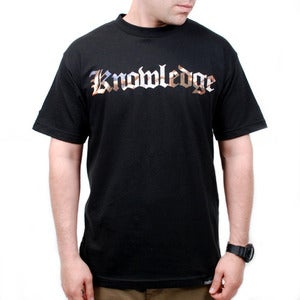 Image of Knowledge Tee (Black)