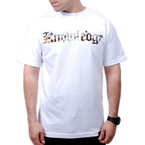 Image of Knowledge Tee (White)