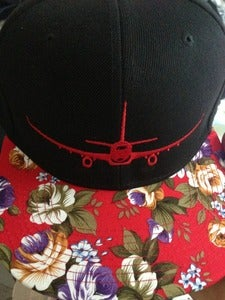 Image of Simple & Plane Flower Snapback