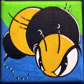 "Image of KingBee ""Mini BlueBee""  Canvas"