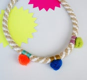 Image of Pom Pom Necklace colour_obg