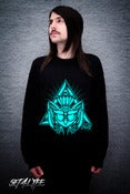 Image of S4L 'OWLY' BLACK SWEATER (Unisex)