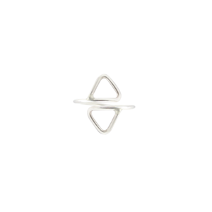 Image of Nyah. Double Point Silver Toe Ring