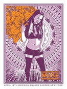 Image of Muse Madison Square Garden Poster 4/16