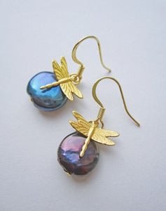Image of Flying High Dragonfly Earrings