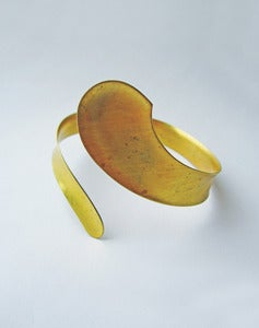 Image of Ishtar Vintage Brass Arm Cuff