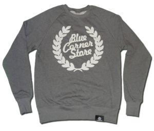 Image of ORGANIC GREY-ON-GREY SWEATSHIRT
