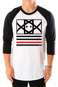 Image of Eyes & Stripes Raglan