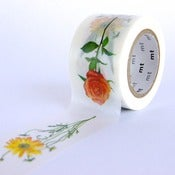 Image of Flowers - mt Washi Tape