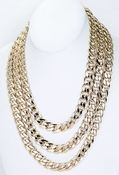 Image of 3 LAYER CHAIN NECKLACE