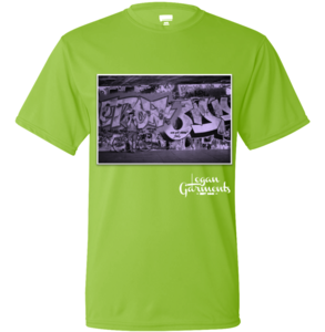 Image of LG BMX T-Shirt Graffiti Green