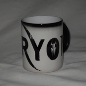 Image of FURYON logo HEAT RE-ACTING MUG