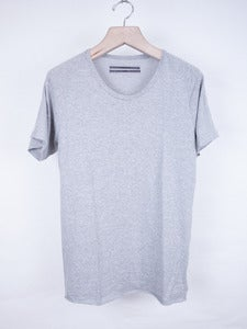 Image of Robert Geller - Slub Jersey Tee Grey