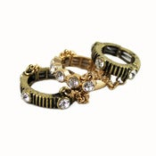 Image of Triple Chain Knuckle Ring