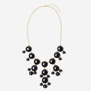 Image of Black Bubble Necklace