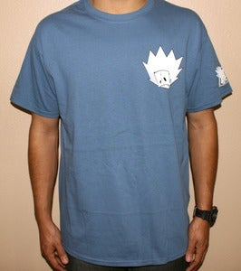 "Image of ""Blur Tee"" in Indigo"
