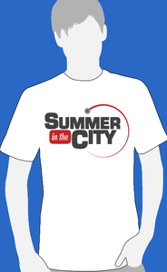 Image of Summer in the City - Official Logo Tshirt