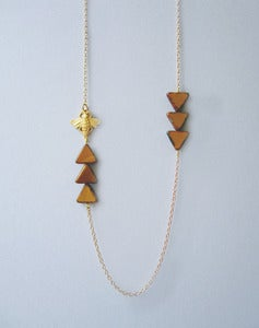 Image of Heading In The Right Direction - Bee Necklace