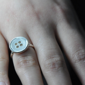 Image of Button Ring