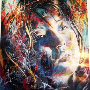 Image of 'Lost Utopia' ltd. edition giclee print by David Walker